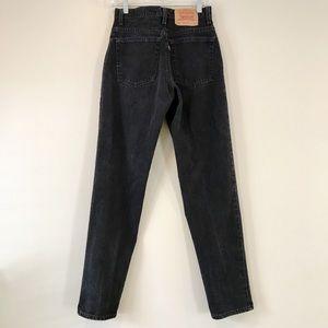 35f7376ce00 Levi's Jeans   Levis 550 Black High Waisted Tapered Leg Sz 9 Jrl ...